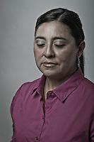 Carolina Almanza, candidata independiente a la presidencia municipal de la capital del estado por el partido Humanista.