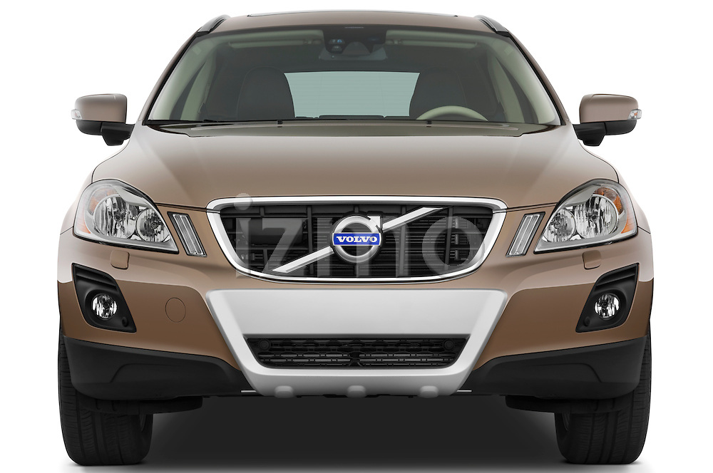 Straight front view of a 2009 Volvo XC 60