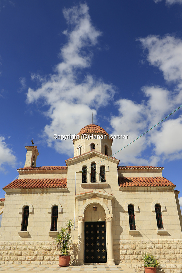 Israel, Jerusalem, the Greek Orthodox Church in Bethphage on the Mount of Olives