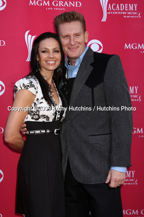 Joey & Rory arriving at the 44th Academy of Country Music Awards at the MGM Grand Arena in  Las Vegas, NV on April 5, 2009.©2009 Kathy Hutchins / Hutchins Photo....                .