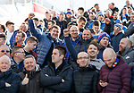 03.03.19: Rangers fans at Pittodrie