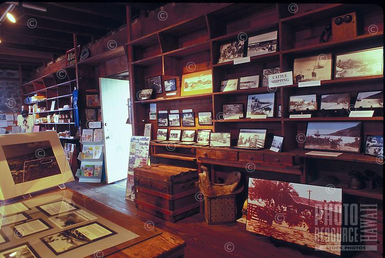 Inside Kona historical society museum greenwell store