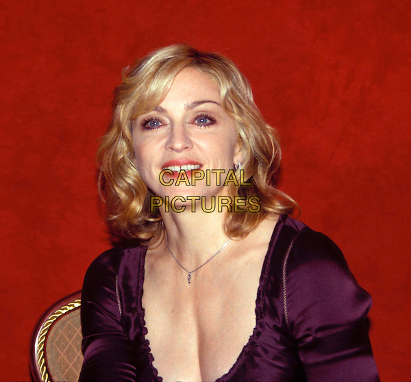 MADONNA.Ref: 11871.headshot, portrait.*RAW SCAN - photo will be adjusted for publication*.www.capitalpictures.com.sales@capitalpictures.com.© Capital Pictures.