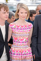 "Dane Dehaan and Mia Wasikowska  attending the ""Lawless"" Photocall during the 65th annual International Cannes Film Festival in Cannes, France, 19th May 2012...Credit: Timm/face to face /MediaPunch Inc. ***FOR USA ONLY***"
