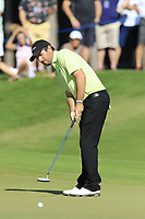 Thomas Aiken (RSA) putts on the 10th green during Sunday's Final Round of the 2018 Turkish Airlines Open hosted by Regnum Carya Golf &amp; Spa Resort, Antalya, Turkey. 4th November 2018.<br /> Picture: Eoin Clarke | Golffile<br /> <br /> <br /> All photos usage must carry mandatory copyright credit (&copy; Golffile | Eoin Clarke)