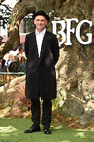 Mark Rylance at the UK premiere of 'The BFG' at the Odeon Leicester Square, London.<br /> July 17, 2016  London, UK<br /> Picture: Steve Vas / Featureflash