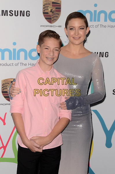 BEVERLY HILLS, CA - NOVEMBER 03: Ryder Robinson, Kate Hudson at Goldie's Love In For Kids at Ron Burkle's Green Acres Estate on November 3, 2017 in Beverly Hills, California. <br /> CAP/MPI/DE<br /> &copy;DE/MPI/Capital Pictures