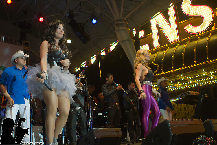 Latin Grammies party  on Fremont Street