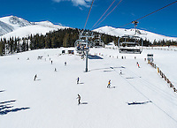 Skiing at Breckenridge, Colorado, Wednesday March 21, 2012...Photo by Matt Nager