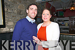 Engagement : Jeremy King & Bridget Breen celebrating their engagement and attending  the Beale GAA social at the Golf Hotel, Ballybunion on Saturday night last.