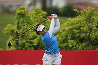 Moriya Jutanugarn (THA) in action on the 6th during Round 2 of the HSBC Womens Champions 2018 at Sentosa Golf Club on the Friday 2nd March 2018.<br /> Picture:  Thos Caffrey / www.golffile.ie<br /> <br /> All photo usage must carry mandatory copyright credit (&copy; Golffile | Thos Caffrey)