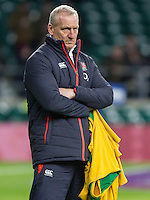 Head Coach Simon Middleton before the match, England Women v France Women in a 6 Nations match at Twickenham Stadium, London, England, on 4th February 2017 Final Score 26-13.