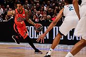 25th March 2018, Madrid, Spain; Endesa Basketball League, Real Madrid versus Valencia; Eric Green (Valencia Basket) brings the ball foward