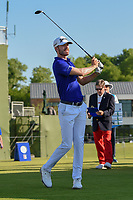 Sam Ryder (USA) watches his tee shot on 10 during round 1 of the AT&T Byron Nelson, Trinity Forest Golf Club, at Dallas, Texas, USA. 5/17/2018.<br /> Picture: Golffile | Ken Murray<br /> <br /> <br /> All photo usage must carry mandatory copyright credit (© Golffile | Ken Murray)