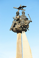 Statue in Mohacs- Hungary
