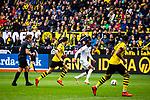 11.05.2019, Signal Iduna Park, Dortmund, GER, 1.FBL, Borussia Dortmund vs Fortuna Düsseldorf, DFL REGULATIONS PROHIBIT ANY USE OF PHOTOGRAPHS AS IMAGE SEQUENCES AND/OR QUASI-VIDEO<br /> <br /> im Bild | picture shows:<br /> Dodi Lukebakio (Fortuna #20) auf dem Weg zum Tor, <br /> <br /> Foto © nordphoto / Rauch