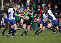 AIB Cup Final 2009. Neil Hanna on the attack during the AIB Cup Final against Cork Constitution at Dubarry Park, Athlone. Mandatory Credit - Mandatory Credit - John Dickson