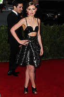 "NEW YORK CITY, NY, USA - MAY 05: Imogen Poots at the ""Charles James: Beyond Fashion"" Costume Institute Gala held at the Metropolitan Museum of Art on May 5, 2014 in New York City, New York, United States. (Photo by Xavier Collin/Celebrity Monitor)"