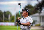 Woonchul Na. Day one of the Jennian Homes Charles Tour Lawnmaster Classic Manawatu Open at Manawatu Golf Club, Palmerston North, New Zealand on Friday, 18 March 2016. Photo: Dave Lintott / lintottphoto.co.nz