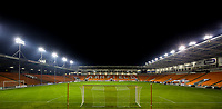 A general view of Bloomfield Road, home of Blackpool<br /> <br /> Photographer Alex Dodd/CameraSport<br /> <br /> The FA Youth Cup Third Round - Blackpool U18 v Derby County U18 - Tuesday 4th December 2018 - Bloomfield Road - Blackpool<br />  <br /> World Copyright &copy; 2018 CameraSport. All rights reserved. 43 Linden Ave. Countesthorpe. Leicester. England. LE8 5PG - Tel: +44 (0) 116 277 4147 - admin@camerasport.com - www.camerasport.com