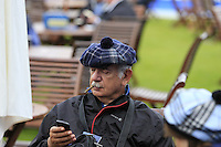 Relaxing during Tartan Tuesday's Practice day of the Ryder Cup 2014 played on the PGA Centenary Course at the Gleneagles Hotel, Auchterarder, Scotland.: Picture Eoin Clarke, www.golffile.ie: 23rd September 2014