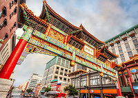 Chinatown Arch Friendship Archway H Street NW Washington DC Architecture Washington DC Art - - Framed Prints - Wall Murals - Metal Prints - Aluminum Prints - Canvas Prints - Fine Art Prints Washington DC Landmarks Monuments Architecture