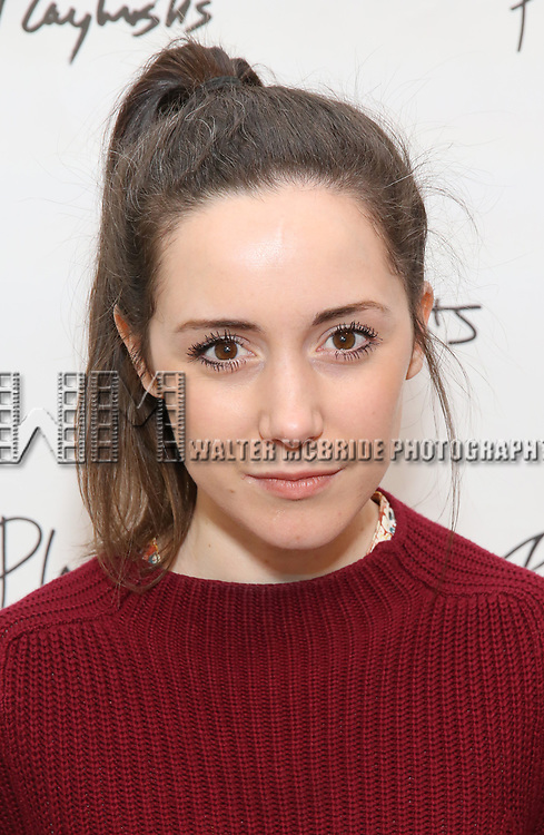 Talene Monahon attends the photo call for Playwrights Horizons world premiere production of 'Log Cabin' on May 8, 2018 at Playwrights Horizons rehearsal hall in New York City.
