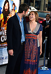 "Peter Herman and Actress Mariska Hargitay arrive at the Los Angeles Premiere of ""The Love Guru"" on June 11, 2008 at Grauman's Chinese Theatre in Hollywood, California."