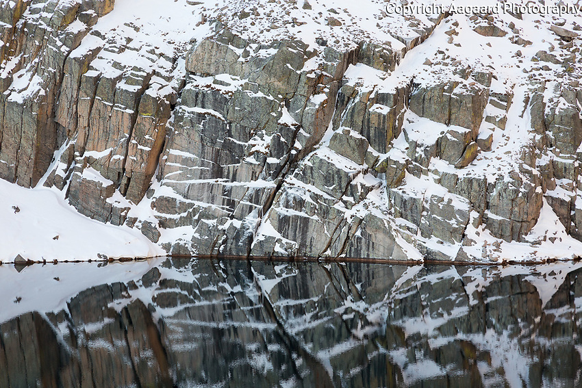 Chasm Lake reflections, Long's Peak, Rocky Mountain National Park