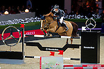 Martin Fuchs of Switzerland riding PSG Future in action during the Longines Speed Challenge competition as part of the Longines Hong Kong Masters on 13 February 2015, at the Asia World Expo, outskirts Hong Kong, China. Photo by Victor Fraile / Power Sport Images