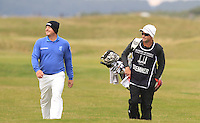 Merrick Bremner (RSA) on the 16th fairway during Round 4 of the 2015 Alfred Dunhill Links Championship at the Old Course in St. Andrews in Scotland on 4/10/15.<br /> Picture: Thos Caffrey | Golffile