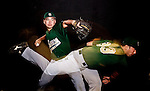 Seneca High School baseball pitcher Kevin Comer on January 26, 2011 in Tabernacle, New Jersey...2011 © Steve Boyle