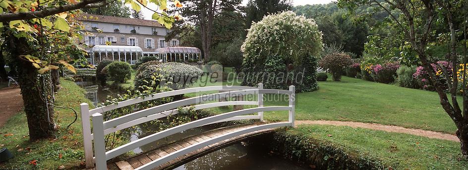 """Europe/France/89/Yonne/Saint Père sous Vezelay: Hotel Restaurant """"L'Espérance"""" & son parc"""
