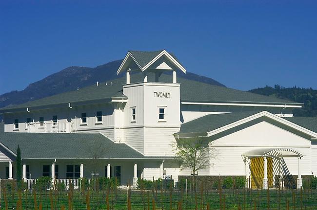 Twomey Cellars winery near Calistoga, CA