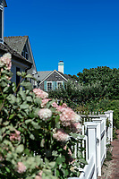 Charming house on Commercial Street, Provincetown, Cape Cod, Massachusetts, USA.
