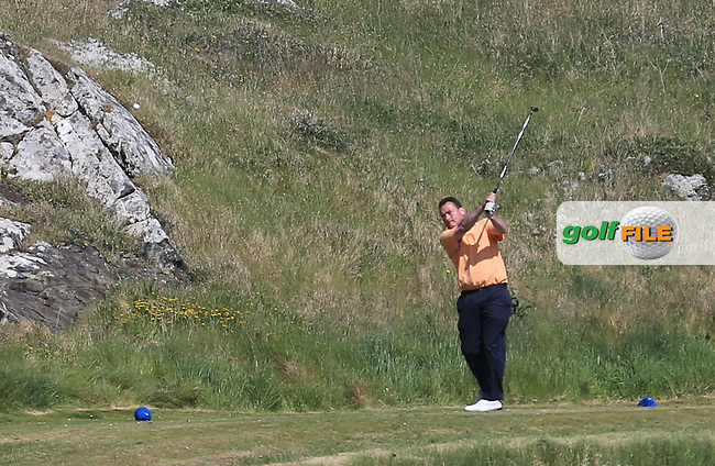 Eamonn Haugh (Castletroy) on the 13th during the 1st round of the Irish Amateur Close Championship 2013 at the Connemara Golf Club Sat  8/6/13<br /> Picture:  Thos Caffrey / www.golffile.ie