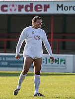Tamer Hassan (Actor) during the 'Greatest Show on Turf' Celebrity Event - Once in a Blue Moon Events at the London Borough of Barking and Dagenham Stadium, London, England on 8 May 2016. Photo by Kevin Prescod.