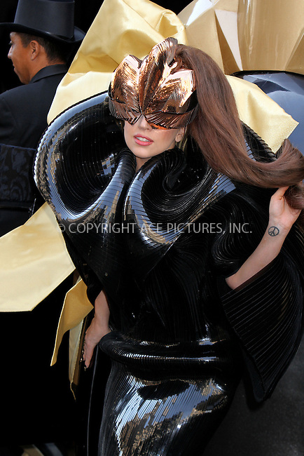 WWW.ACEPIXS.COM....September 14 2012, New York City....Lady Gaga launches her first fragrance, LADY GAGA FAME, at Macy's Herald Square.September 14, 2012 in New York City......By Line: Nancy Rivera/ACE Pictures......ACE Pictures, Inc...tel: 646 769 0430..Email: info@acepixs.com..www.acepixs.com