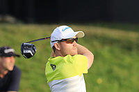 Philipp Mejow (GER) tees off the 18th tee during Saturday's Round 3 of the Porsche European Open 2018 held at Green Eagle Golf Courses, Hamburg Germany. 28th July 2018.<br /> Picture: Eoin Clarke | Golffile<br /> <br /> <br /> All photos usage must carry mandatory copyright credit (&copy; Golffile | Eoin Clarke)