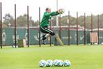 13.09.2017, Trainingsgelaende, Bremen, GER, 1.FBL, Training SV Werder Bremen<br /> <br /> im Bild<br /> Jaroslav Drobny (Werder Bremen #33), <br /> <br /> Foto &copy; nordphoto / Ewert