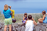 Tourists At Mono Lake