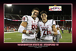 Fan shots and player shots from the Cougars Pac-12 Conference road victory over the Stanford Cardinal, 42-16, on October 8, 2016, at Stanford Stadium in Stanford, California.