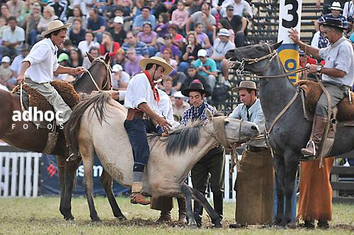 ©Javier Calvelo/ URUGUAY/ MONTEVIDEO/ 87º Semana Criolla. Rural del Prado..En la foto:  Criolla del Prado .Foto: Javier Calvelo / adhocfotos.2011-04-03 día martes.adhocFOTOS..