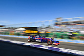 23rd March 2018, Melbourne Grand Prix Circuit, Melbourne, Australia; Melbourne Formula One Grand Prix, Friday free practice; Camera blurr of Pierre Gasly of France driving the (10) Scuderia Toro Rosso STR13 Honda