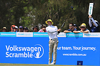 Daniel Gale (AUS) on the 3rd tee during Round 3 of the Australian PGA Championship at  RACV Royal Pines Resort, Gold Coast, Queensland, Australia. 21/12/2019.<br /> Picture Thos Caffrey / Golffile.ie<br /> <br /> All photo usage must carry mandatory copyright credit (© Golffile | Thos Caffrey)