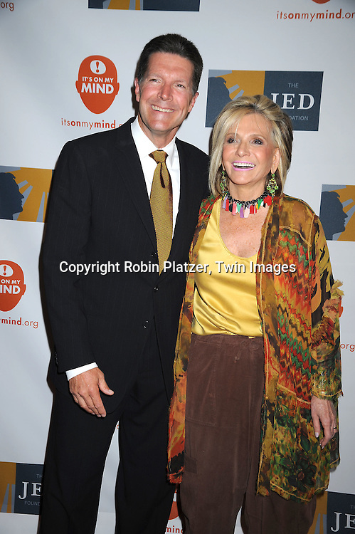 Stone Phillips and honoree Sheila Nevins