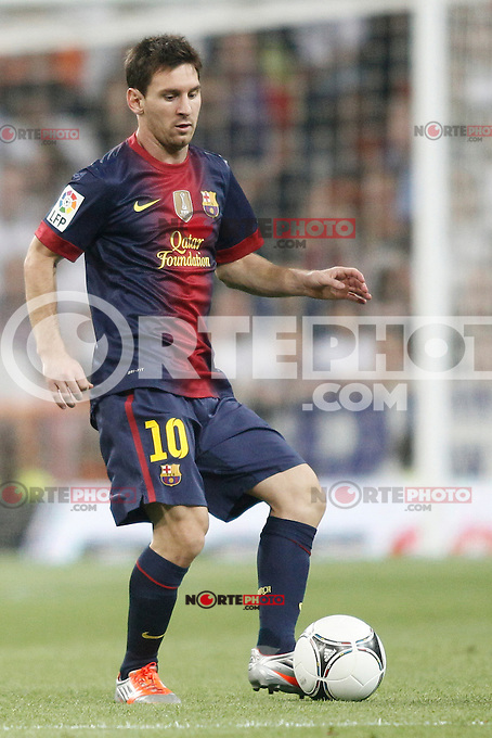 Barcelona's Leo Messi during Super Copa of Spain on Agost 29th 2012...Photo:  (ALTERPHOTOS/Ricky) Super Cup match. August 29, 2012. <br />  (foto:ALTERPHOTOS/NortePhoto.com<br /> <br /> **CREDITO*OBLIGATORIO** <br /> *No*Venta*A*Terceros*<br /> *No*Sale*So*third*<br /> *** No*Se*Permite*Hacer*Archivo**<br /> *No*Sale*So*third*