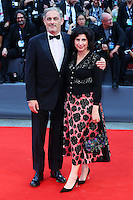 John Lesher, left, attends the red carpet for the movie 'Black Mass' during 72nd Venice Film Festival at the Palazzo Del Cinema in Venice, Italy, September 4, 2015. <br /> UPDATE IMAGES PRESS/Stephen Richie