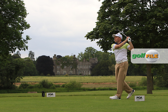Andrew Windsor (Knighton Heath GC) on the 7th tee during Round 1 of the Titleist &amp; Footjoy PGA Professional Championship at Luttrellstown Castle Golf &amp; Country Club on Tuesday 13th June 2017.<br /> Photo: Golffile / Thos Caffrey.<br /> <br /> All photo usage must carry mandatory copyright credit     (&copy; Golffile | Thos Caffrey)