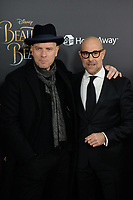 www.acepixs.com<br /> March 13, 2017  New York City<br /> <br /> Ewan McGregor And Stanley Tucci arriving at the New York special screening of Disney's live-action adaptation 'Beauty and the Beast' at Alice Tully Hall on March 13, 2017 in New York City.<br /> <br /> Credit: Kristin Callahan/ACE Pictures<br /> <br /> Tel: 646 769 0430<br /> Email: info@acepixs.com